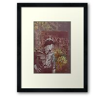 Outside The Stories Framed Print