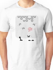 Butterfly Invaders Unisex T-Shirt