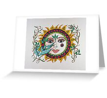 Sun Faces/7 - Cherie Greeting Card