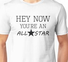 All Star - Lyrics  Unisex T-Shirt