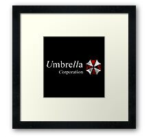 Resident Evil-Umbrella Corporation Framed Print
