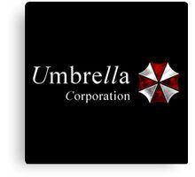 Resident Evil-Umbrella Corporation Canvas Print