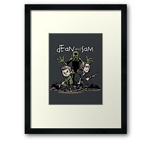 Dean and Sam Framed Print
