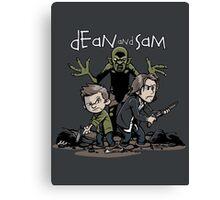 Dean and Sam Canvas Print