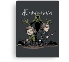 Dean and Sam Canvas Print