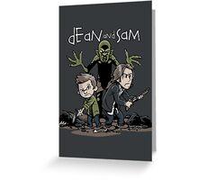 Dean and Sam Greeting Card