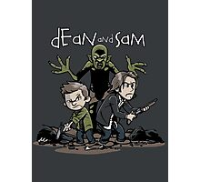 Dean and Sam Photographic Print