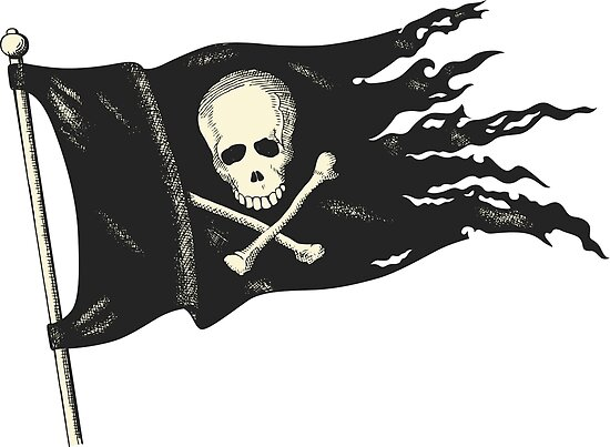 Pirate Flag for your Pirating Needs.
