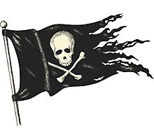 Pirate Flag for your Pirating Needs. Photographic Print