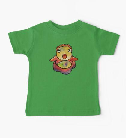 Cute Ponyo! Studio Ghibli Baby Tee