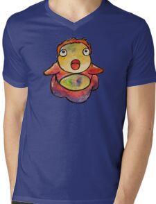 Cute Ponyo! Studio Ghibli Mens V-Neck T-Shirt