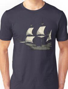 Vintage Sailing Ship Unisex T-Shirt