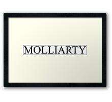Molliarty -- Sherlock Framed Print