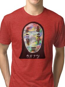 Spirited Away No Face! Kaonashi Tri-blend T-Shirt