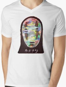 Spirited Away No Face! Kaonashi Mens V-Neck T-Shirt