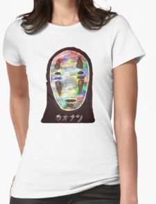Spirited Away No Face! Kaonashi Womens Fitted T-Shirt