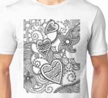 Growing Into Love - duco divina doodle Unisex T-Shirt