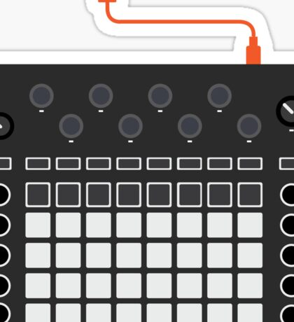 Novation Circuit - Iconic Gear Sticker