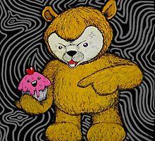 Wheat Intolerance Bear alt by SPOOKYMUSHROOM