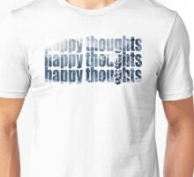HAPPY THOUGHTS (cold) Unisex T-Shirt