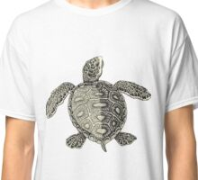 Turtle Vintage Drawing Classic T-Shirt