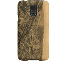 Vintage Pictorial Map of Hot Springs AR (1888) Samsung Galaxy Case/Skin