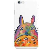 Cute Colorful Totoro! Tshirts + more! iPhone Case/Skin