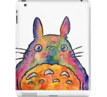 Cute Colorful Totoro! Tshirts + more! iPad Case/Skin