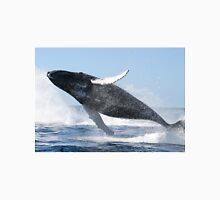 Humpback Whale Jumping High Unisex T-Shirt
