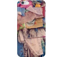 Prayer flags iPhone Case/Skin