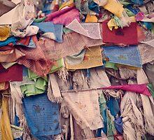 Prayer flags by Franziska Wernsing