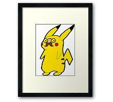 Disguised Pikachu Framed Print
