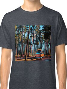 Bay Window Volkswagen Westfalia in Yellowstone  Classic T-Shirt