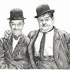 Mr Laurel & Mr Hardy by L K Southward