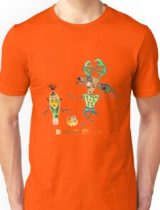 Reindeer and friend Unisex T-Shirt