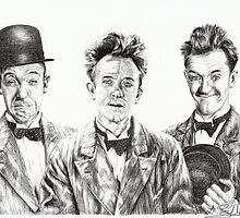 The Funny Faces of Stan Laurel by L K Southward