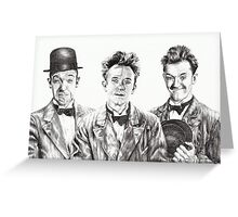 The Funny Faces of Stan Laurel Greeting Card