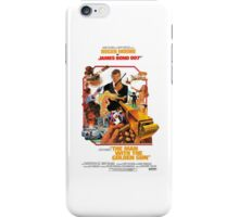 Roger Moore as James Bond iPhone Case/Skin