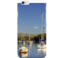 Yachts At Ferry Nab iPhone Case/Skin