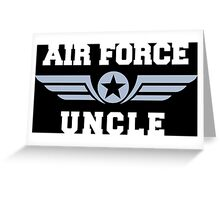 Air Force Uncle Greeting Card