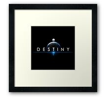 Destiny - From the Space by AronGilli Framed Print