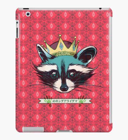 King Raccoon · Rey Mapache Ver.5 iPad Case/Skin