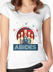 Abides Women's Fitted Scoop T-Shirt