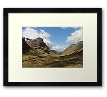 Scottish Highlands Framed Print