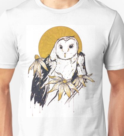 Inktober - Owl and Susans Unisex T-Shirt