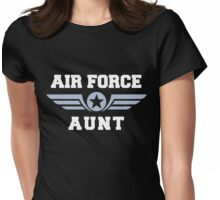 Air Force Aunt Womens Fitted T-Shirt