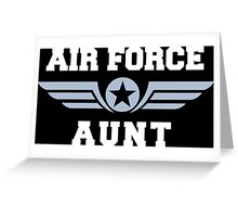 Air Force Aunt Greeting Card