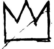 Crown (Black) Photographic Print