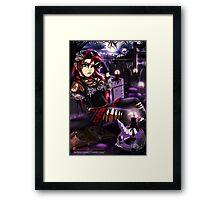 Gothic Shimmer Framed Print