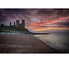 Reculver Towers Photographic Print